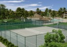Tennis Courts at Riviera Azul Condos