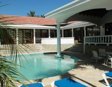 Pool & Veranda of Villa Sirena, Sea Horse Ranch