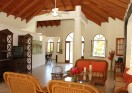 Spacious Living Room in Villa Sirena, Sea Horse Ranch
