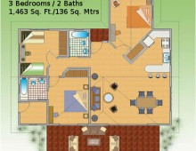 caribbean-villa-floor-plan-for-sale