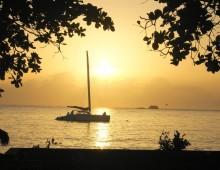 playa-dorada-sunset